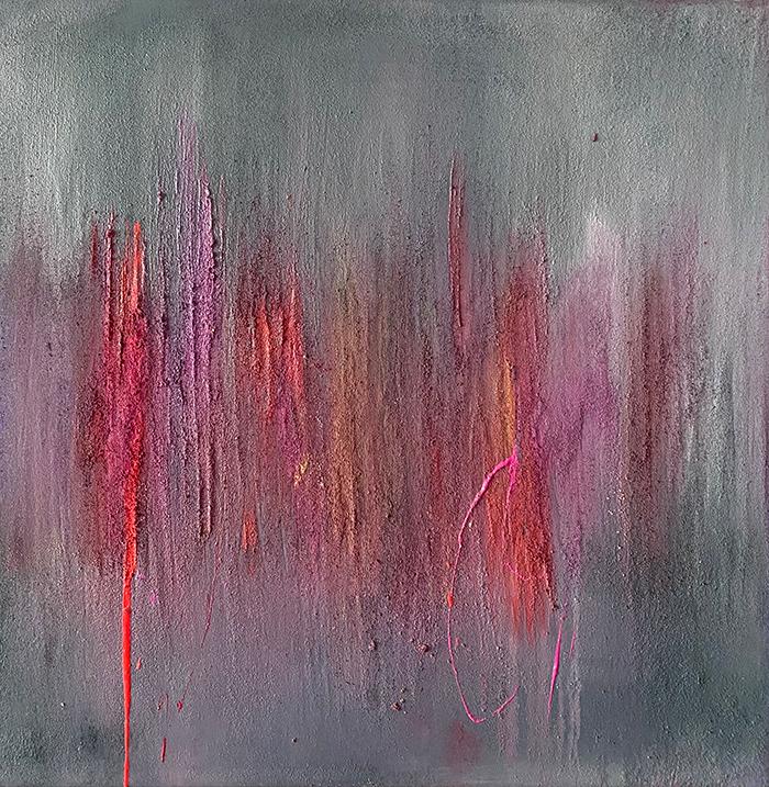 euphoria, 100 x 100 cm